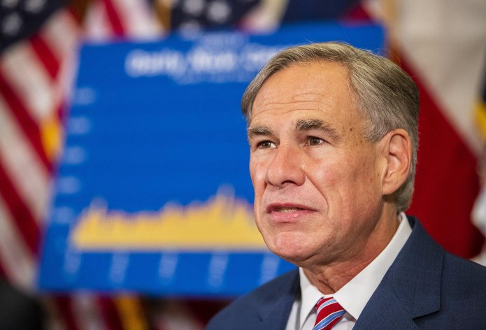 As Texas hits new COVID-19 cases, the Governor pulls open the fee rules