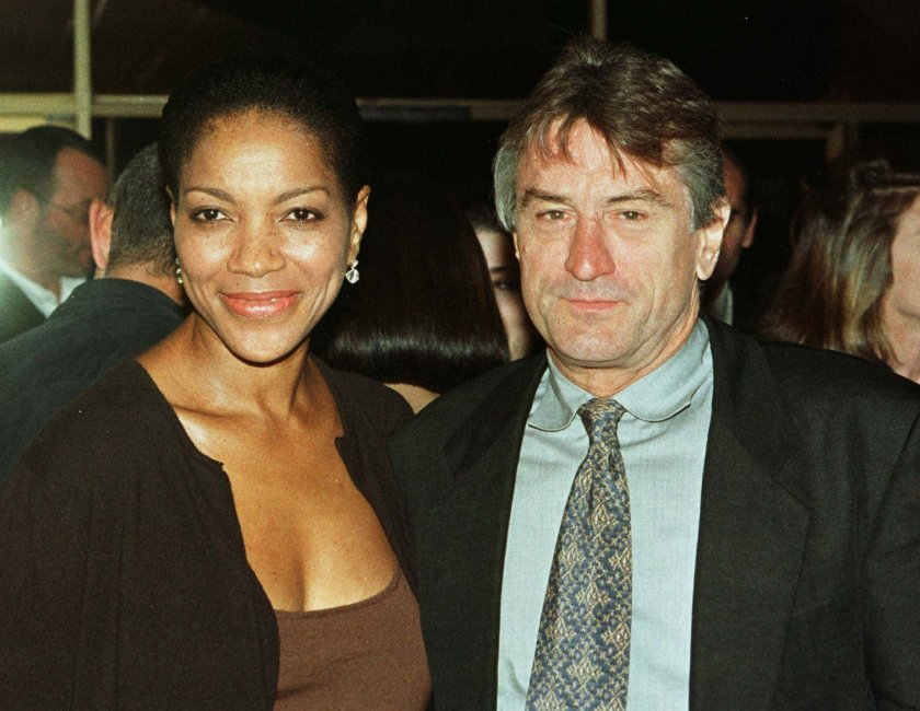 De Niro and wife Grace Hightower in 1998