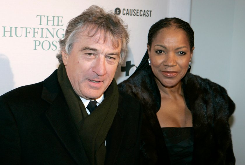 Robert DeNiro and his wife Grace Hightower attend a party in Washington, DC, in 2009