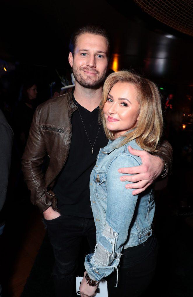 Hayden and Brian began dating in July 2018