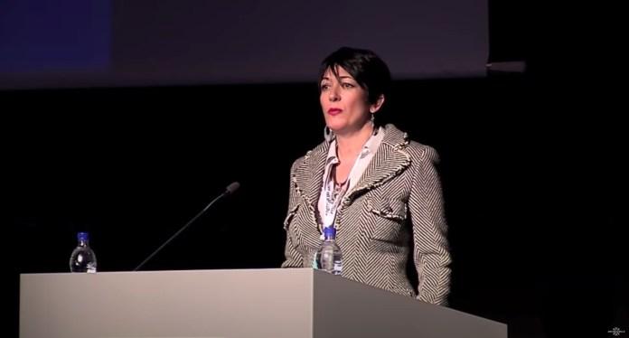 Ghislaine Maxwell speaks at the Arctic Circle Forum in Reykjavik