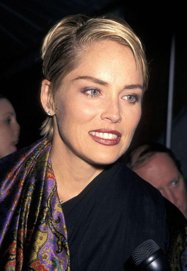 Sharon shot to fame aged 31