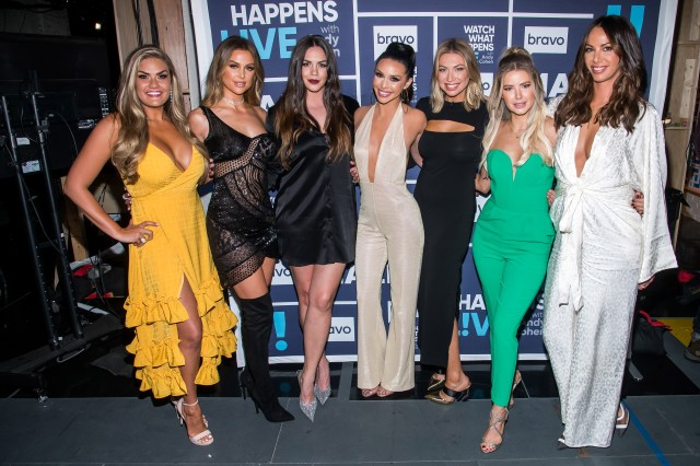 Scheana said it's not a good time to try and start a family now because of the pandemic and the potential to begin filming VPR