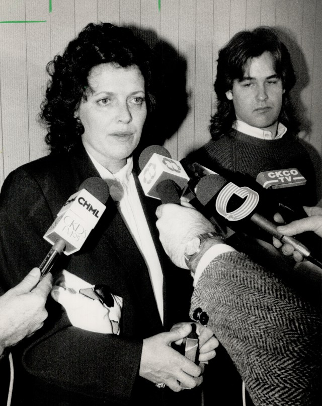 Smith when she was served 18 months for supplying John Belushi with drugs