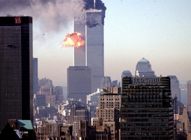 The 9/11 attacks that killed 2,977 people and injured 25,000