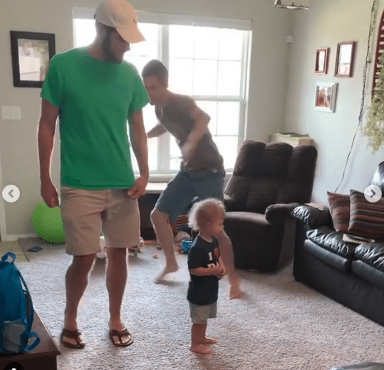 Derick recently broke Duggar rules by dancing with his brother and nephew