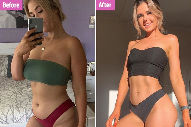 Woman shows off her incredible 4st weight loss in viral TikTok video after  reining in 'mindless snacking'