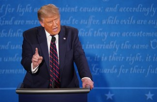 Trump's microphone could be turned off in the next debate if he keeps interrupting or he might get a time penalty under Debate commission plans after 'dumpster fire' first round clash