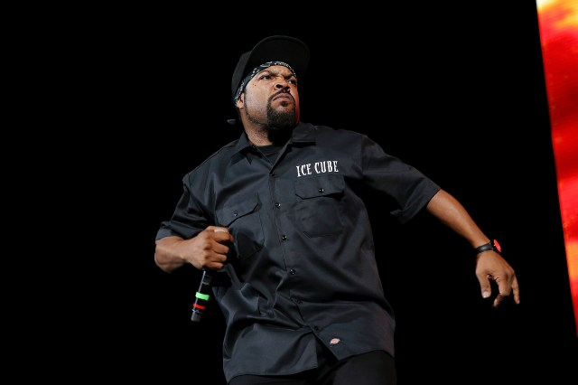 Ice Cube is known for hits such F*** Tha Police