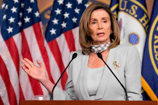 Nancy Pelosi has set the White House a 48 hour deadline