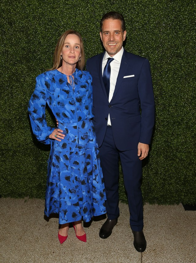 Hunter and his ex-wife Kathleen Buhlepictured in 2016