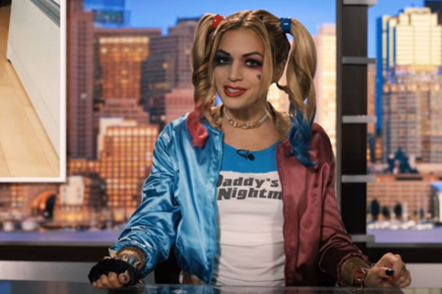 "Alaina Pinto appeared as Harley Quinn in Sandler's ""Hubie Halloween"" movie"