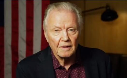 Jon Voight says Trump 'must win' the election to save America from 'evil' Joe Biden in passionate Twitter video plea