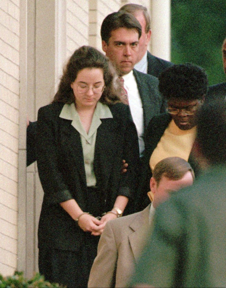 She was convicted of murder in 1995