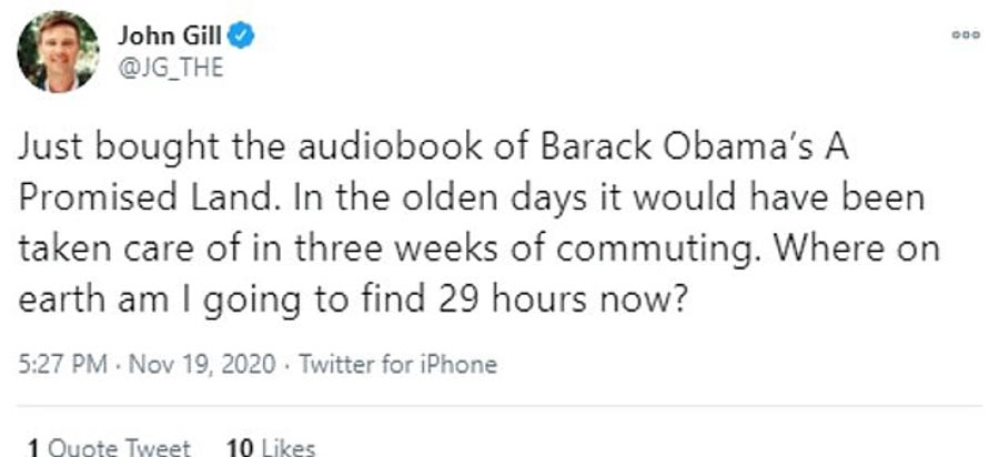 Listeners who thought the audiobook might be easier now face a long slog to reach the end