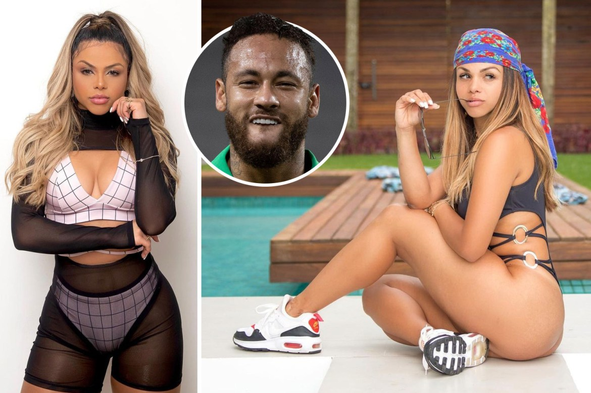 PSG star Neymar has been in 'open relationship' with stunning singer Gabily  for last eight months