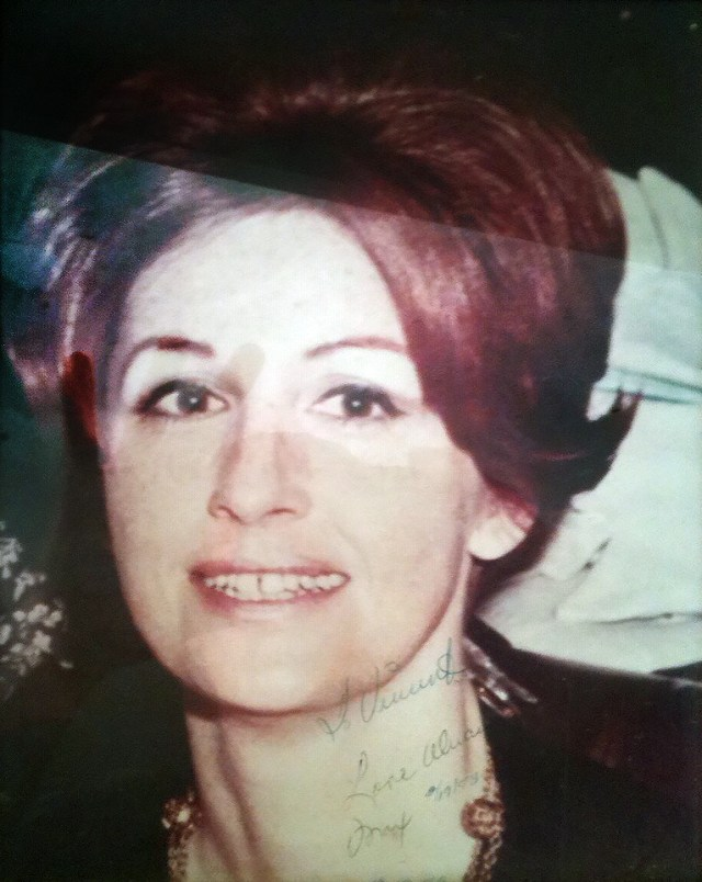 His wife Maxine was also killed and had her eyes gouged out