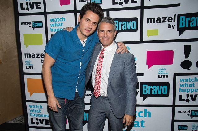 The crooner made the comments while chatting with pal Andy Cohen
