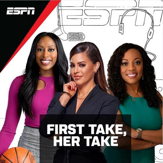 Arnolt joins Kimberley A. Martin and Chiney Ogwumike as hosts of new ESPN podcast First Take, Her Take