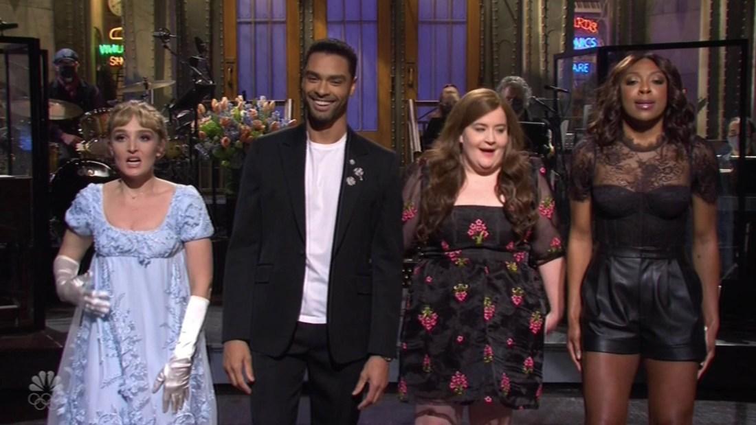 Bridgerton's Regé-Jean Page Makes Hosting Debut At Saturday Night Liveht live