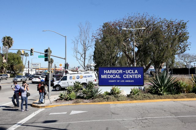 Harbor-UCLA Medical Center, where Tiger Woods was reportedly taken to after his car crash