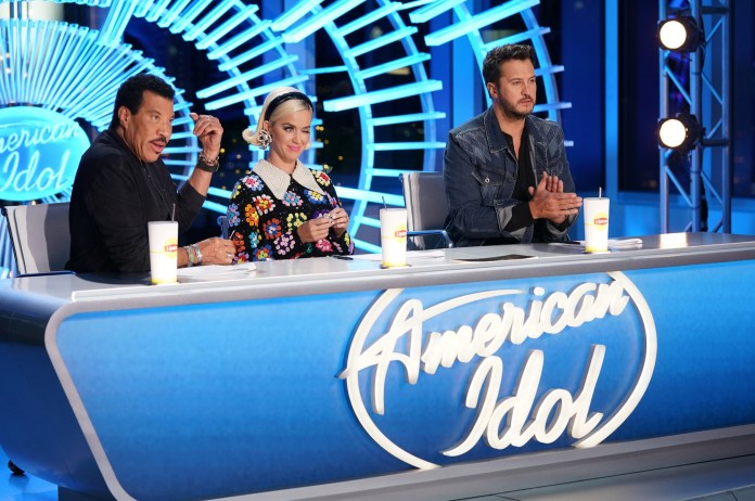 Richie has been judging American Idol from home after being exposed to coronavirus