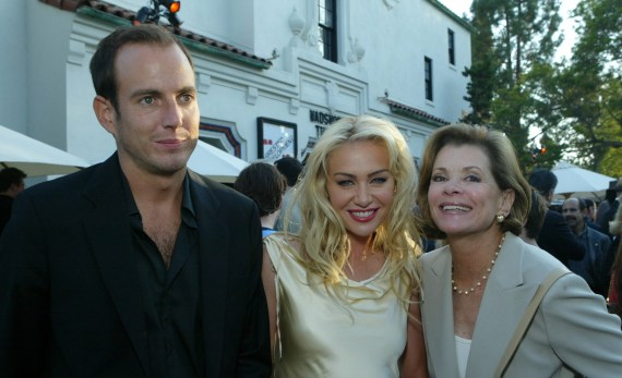 She was a critical member of the Arrested Development cast - seen pictured alongside Will Arnett and Portia de Rossi in 2004