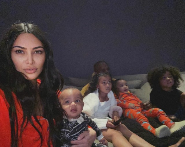 The exes share four children together