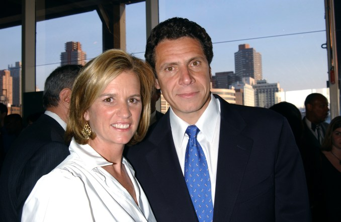 Andrew Cuomo and his wife Kerry Kennedy before their divorce in 2005