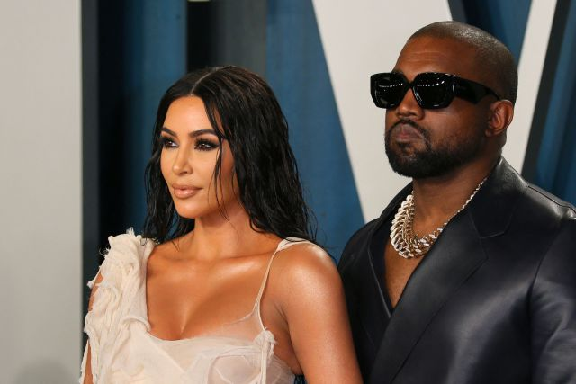 Kim filed for divorce in February