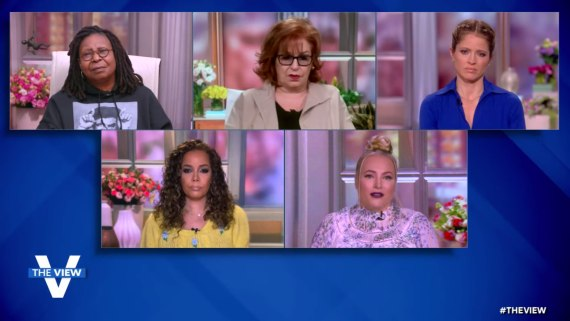 Meghan was speaking on The View
