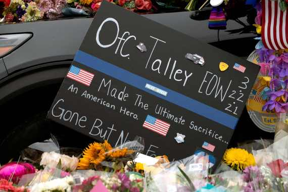 51-year-old Talley was one of the ten victims who were killed at the mass shooting