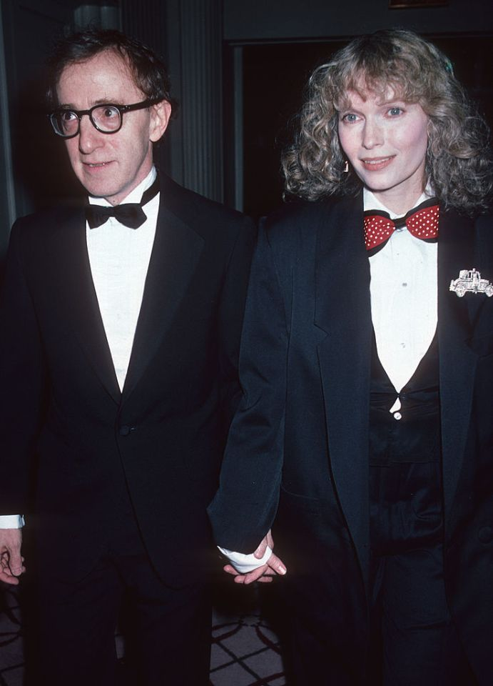 Filmmaker Woody Allen, pictured with Mia Farrow, has always denied the allegations against him