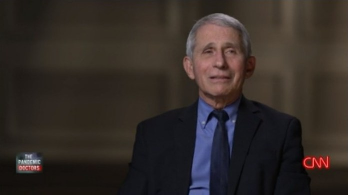 Fauci said 'the decision we made on January the 10th – to go all out and develop a vaccine – may have been the best decision that I've ever made with regard to an intervention as director of the institute'