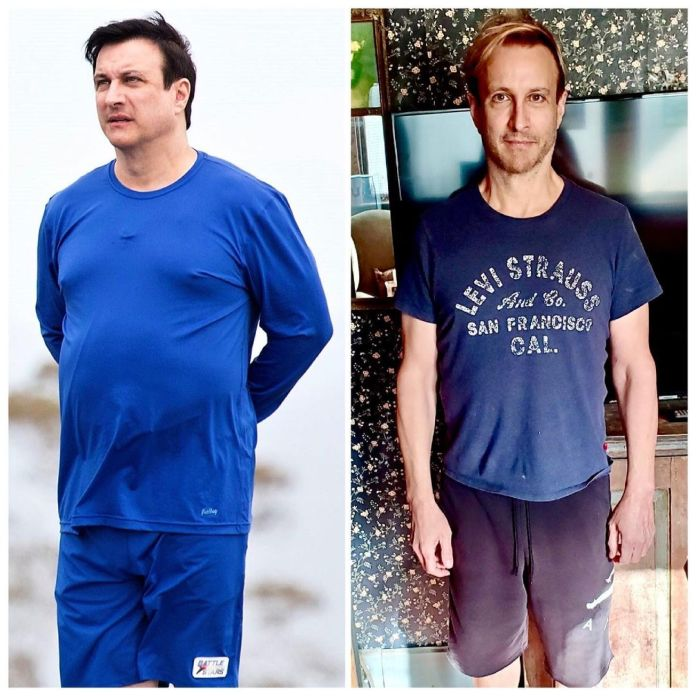 Bronson Pinchot revealed he lost 60 pounds