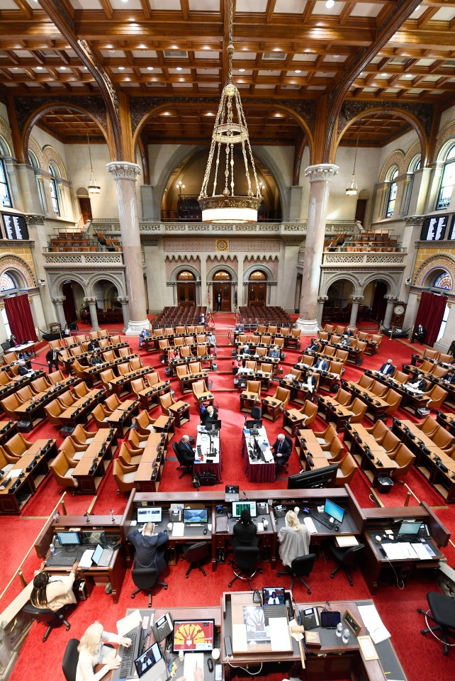 The New York Legislature passed marijuana legalization late Tuesday evening