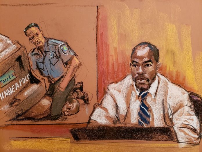 MMA expert Donald Williams gave his testimony during the first day of the trial