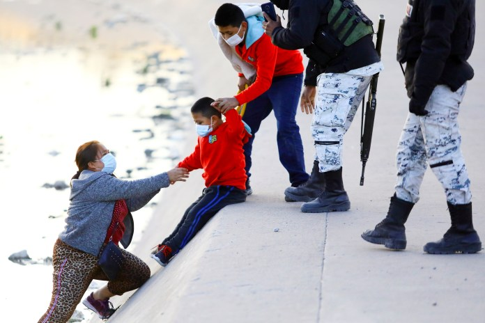The numbers of migrants crossing the Southern border have soared