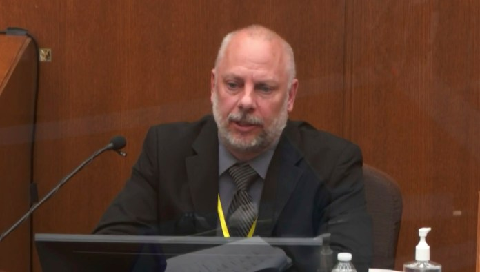 Former Minneapolis Police Department Sergeant David Pleoger testified on Thursday
