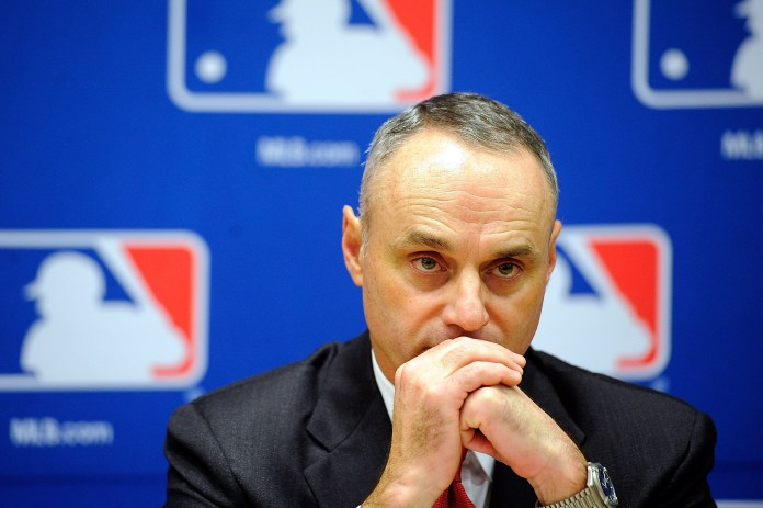 Manfred hasn't yet announced a new venue for the events