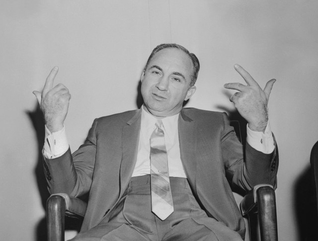 She also had a relationship with mobster Mickey Cohen