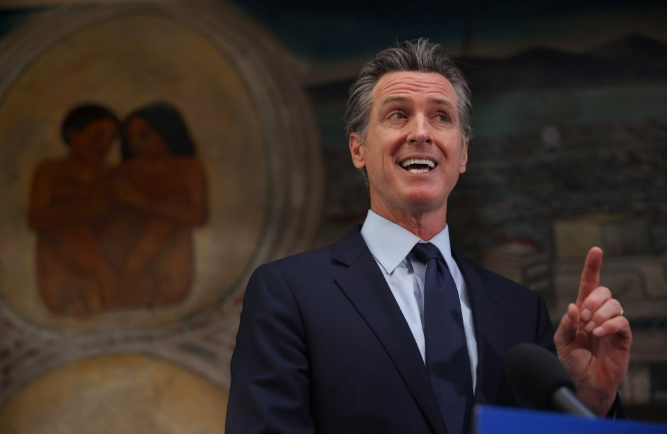 Gov Newsom said two-thirds of Californians would benefit from the program