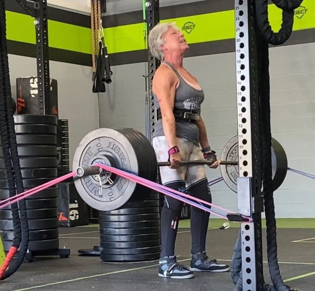 Despite training up to six hours a day, she said people often judge her for her age