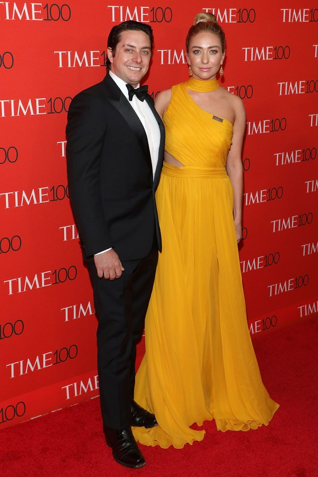 Michael Herd and Whitney Wolfe Herd attend the 2018 Time 100 Gala