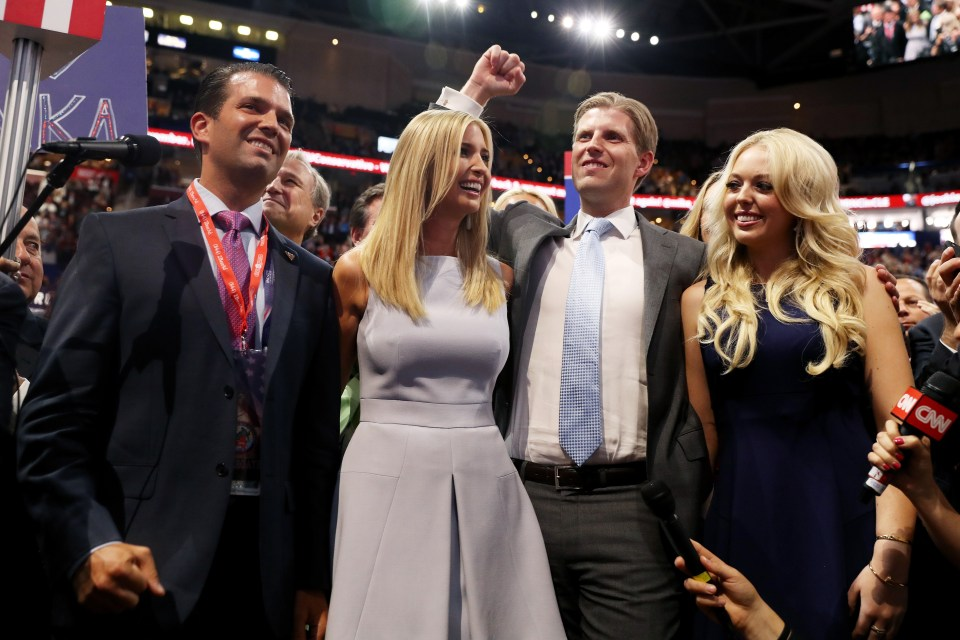 The Trump siblings had 24-hour Secret Service protection