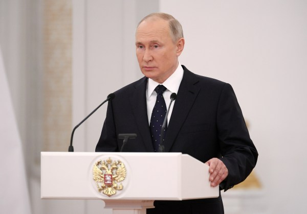 Skeptics in the UFO debate believe that Putin may be sending unmanned drones to stalk US Navy ships and planes