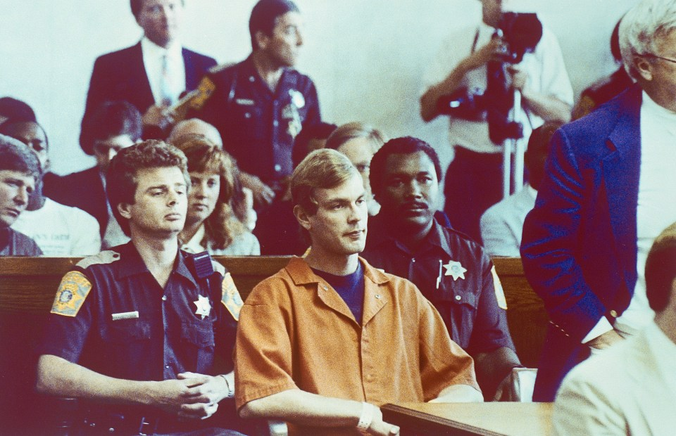 Dahmer sits in court