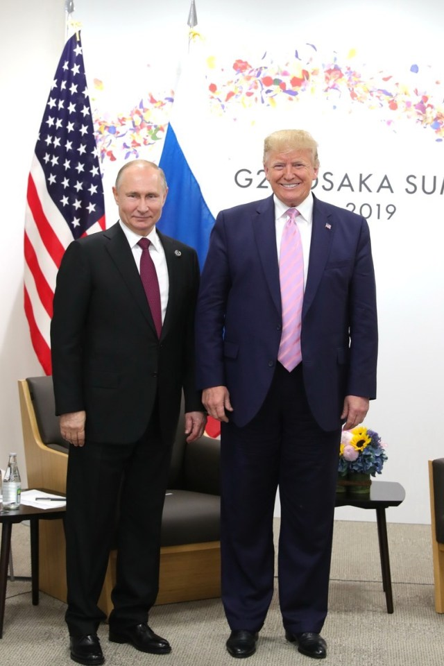 "Trump sent Biden ""Good luck"" wishes in advance of his upcoming meeting in Switzerland with Russian President Vladimir Putin"