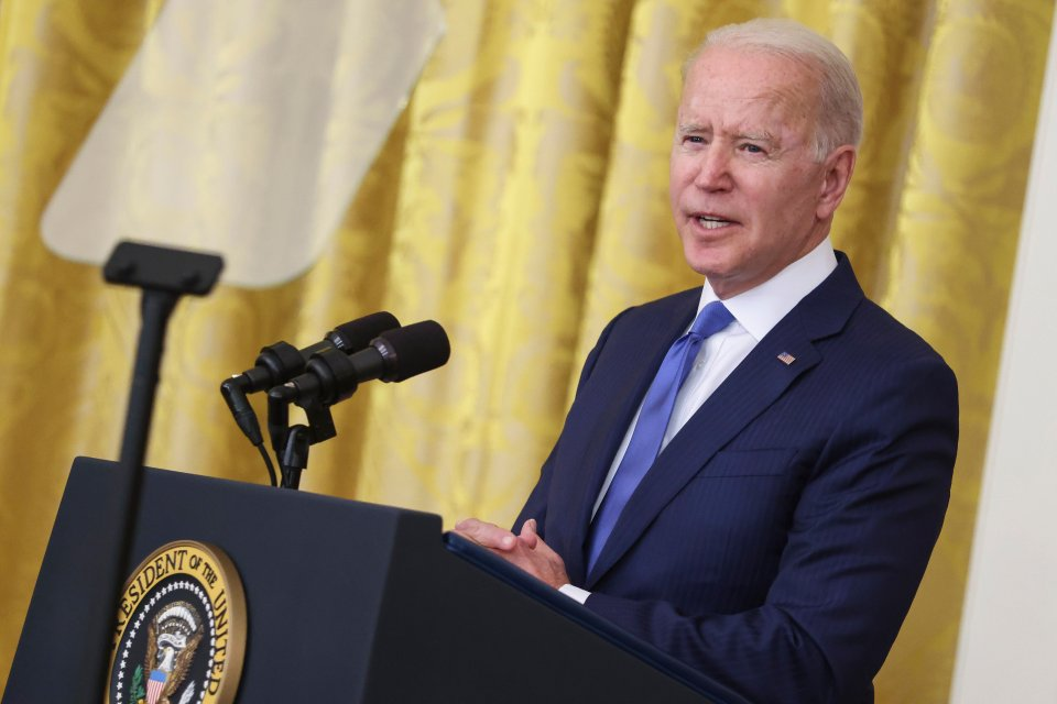 Biden launched airstrikes on three targets in Syria and Iraq on Sunday