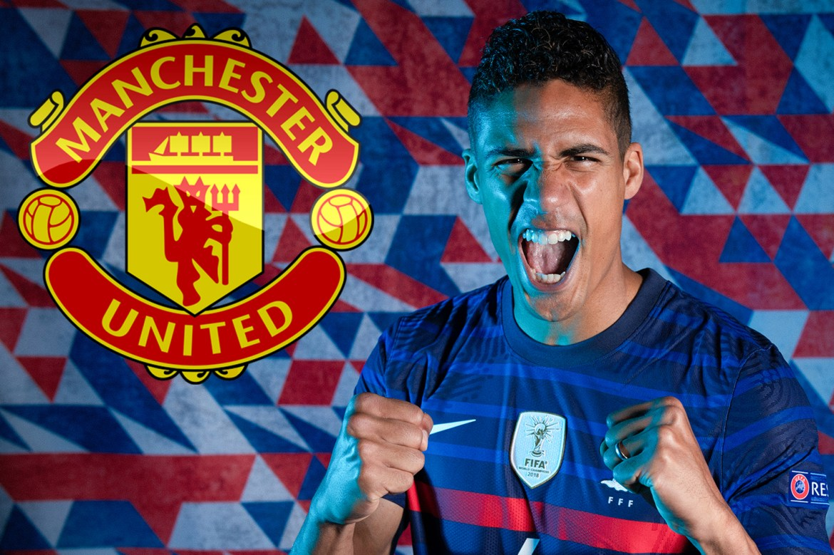 Man Utd must pay £52m for Raphael Varane transfer despite being able to  sign Real Madrid ace for FREE next summer